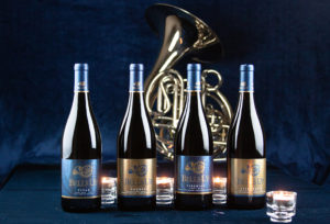 wine family and French horn