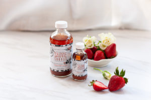 tonic roses and strawberries